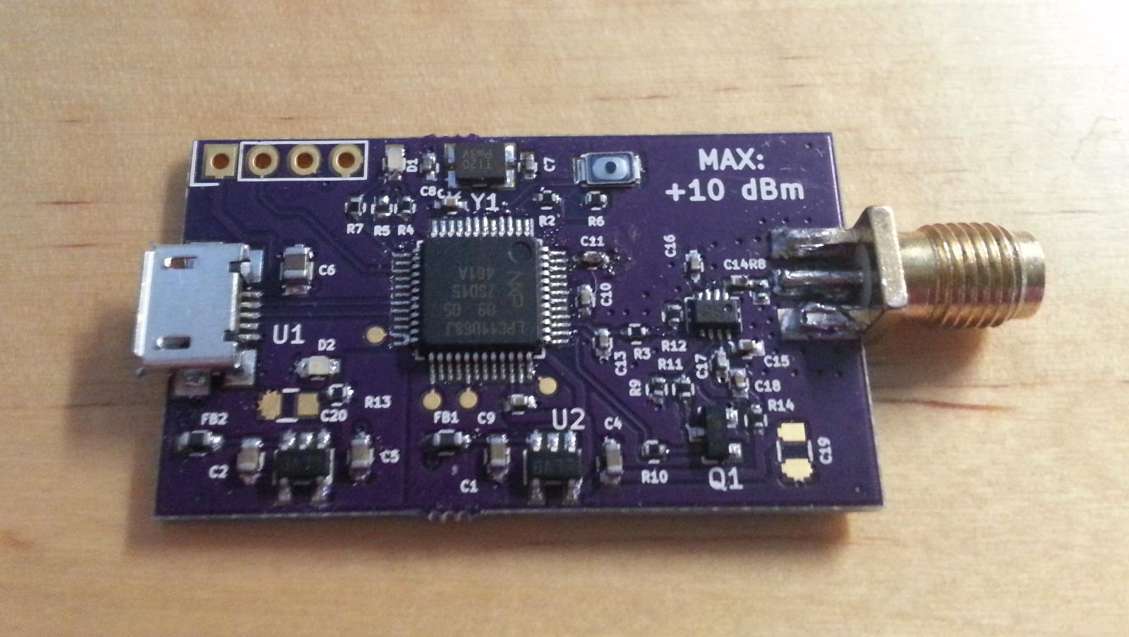 Electrical Network Analyzer : Rf power detector and scalar network analyzer henrik s