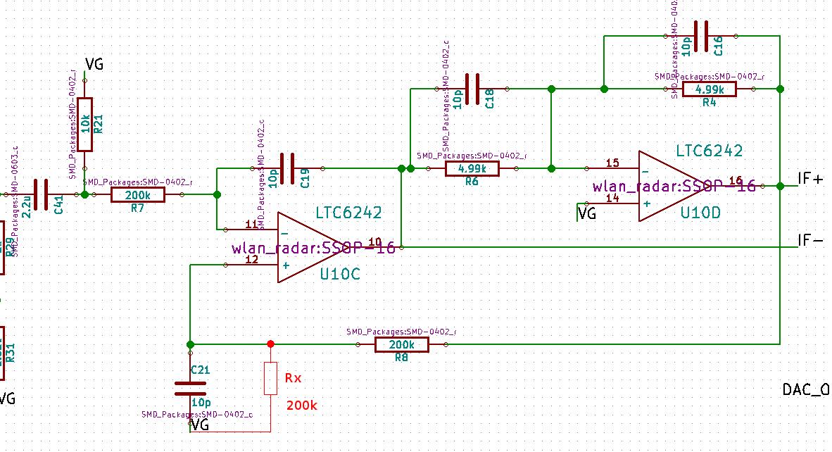 6 GHz frequency modulated radar - Henrik's Blog Radar Circuit Diagram on