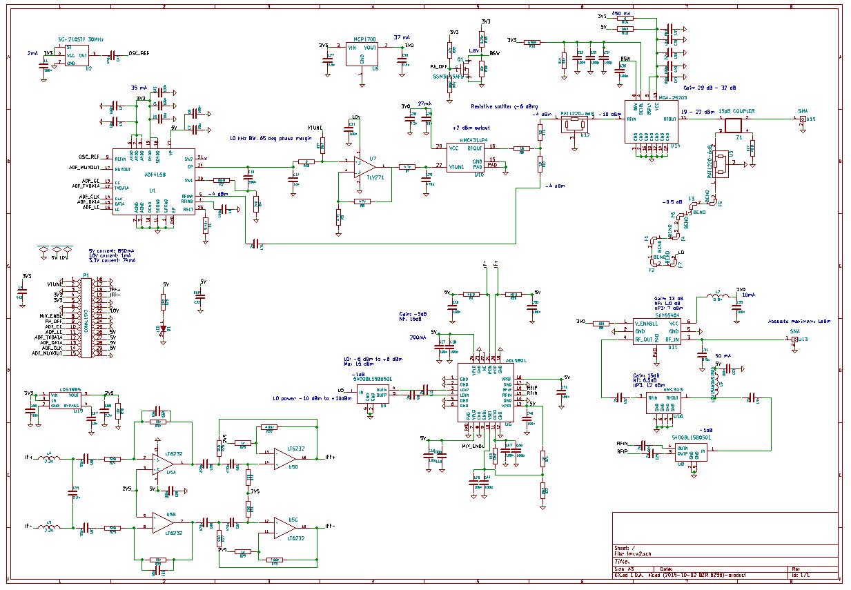 Схема мультиметра м266с